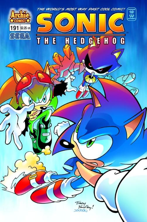 Sonic the Hedgeog - Archie Sth191