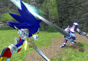 Sonic and the Black Knight Main