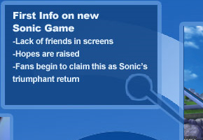 The first cruel step of the dreaded Sonic Cycle
