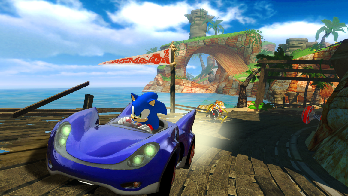 Did I mention that I love Sonics car?