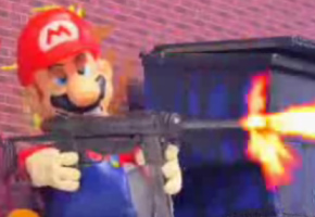 Grand Theft Mario on Robot Chicken