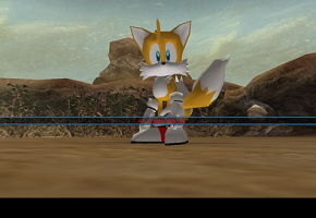 Tails in Phantasy Star Universe