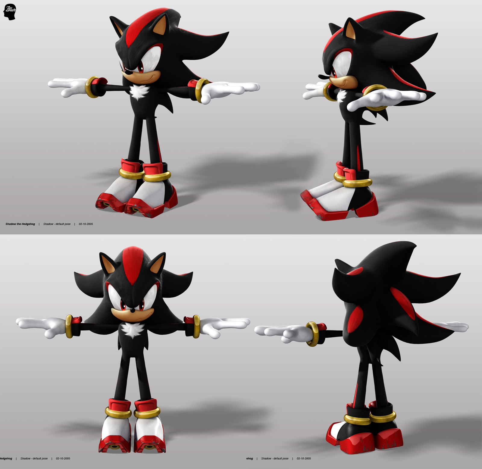 Silver The Hedgehog Concept Art