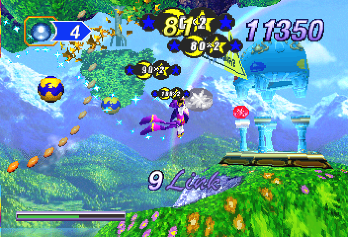Spring Valley in ''NiGHTS into Dreams''.