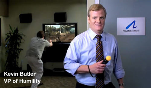 Most of the good-will Sony has acquired in this last year can likely be attributed soley to Kevin Butler's charisma.
