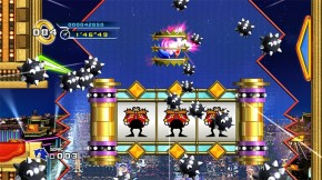 A pinball-style level without the appropriate pinball-style controls? This isn't the Sonic I remember.