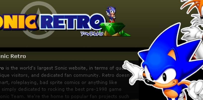 Sonic Retro expands fangame support