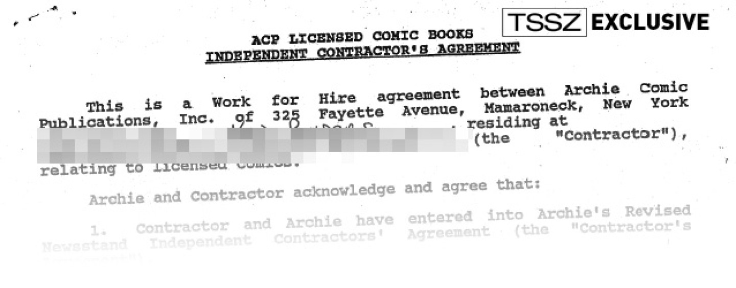 Inside Ken Penderss Alleged Work For Hire Agreements With Archie