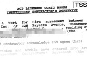 Inside Ken Penders's Alleged Work for Hire Agreements with Archie