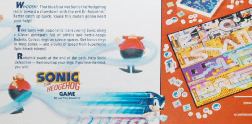 On EBay, the 1992 Sonic Board Game