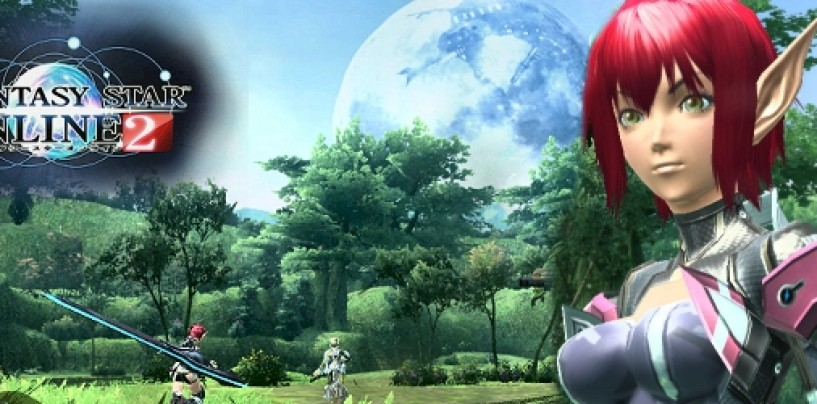 First Phantasy Star Online 2 media arrives