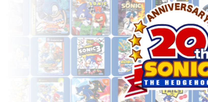 Sega Releases Sonic 20th Anniversary Retrospective Video