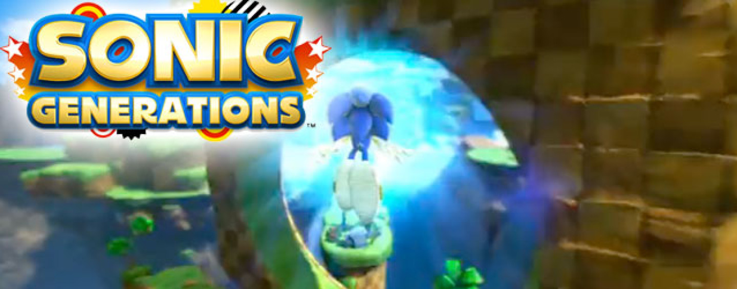"Sega Officially Unveils ""Sonic Generations"""