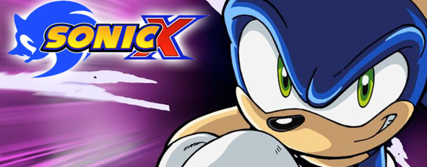 Sonic X Anime Licensed by Discotek Media