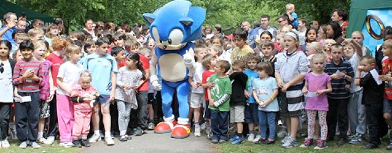 """Sega, Sonic, UK Schools Start """"Run Sonic Run"""" Initiative"""