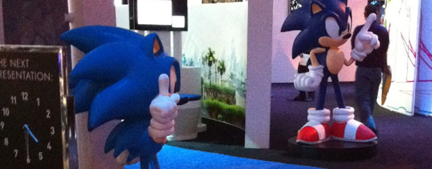 First Peek at Sega's E3 Booth
