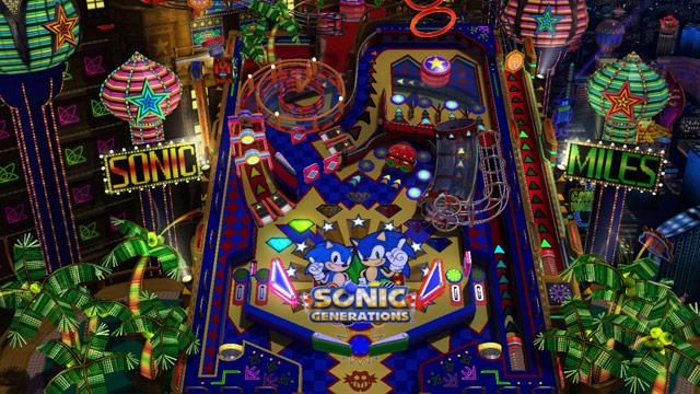 Sonic generations casino nights