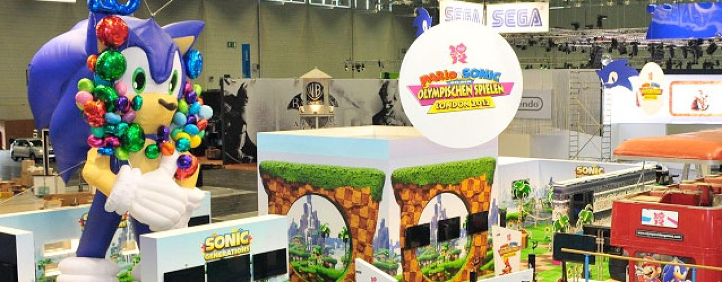 Sonic, Sega in Tow at Gamescom