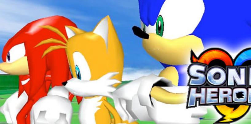 Sonic Heroes 20th Anniversary Soundtrack Album Art, Tracklist Details