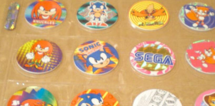 On EBay, a Set of Sonic Pogs