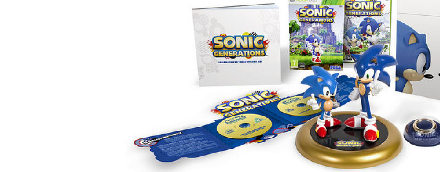 Update Sonic Generations Ce Listed On Amazon Uk Mighty Ape