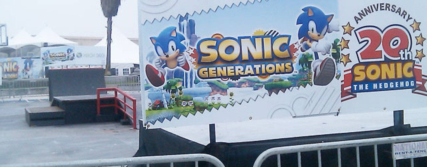 UPDATE: Inside the Sonic Generations of Skate Event