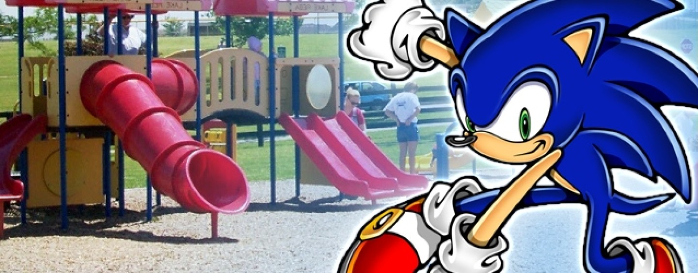 Sega helping to build Sonic-themed playground