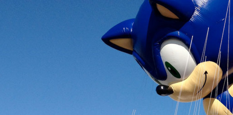 Sonic Represented in Song at Thanksgiving Day Parade