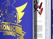 On eBay, An Autographed History of Sonic Hardcover