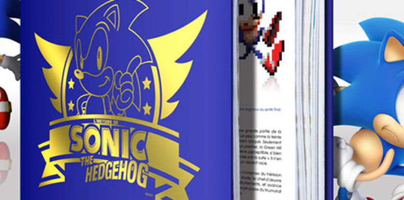 Sonic History Book Available for Pre-Order in North America