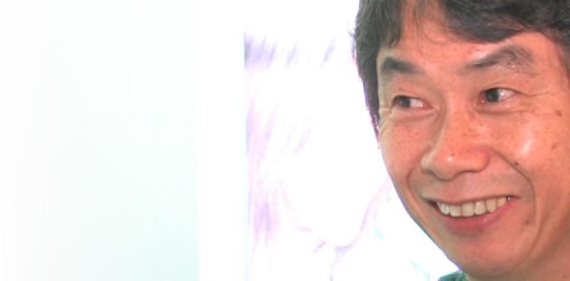 Shigeru Miyamoto Visits London