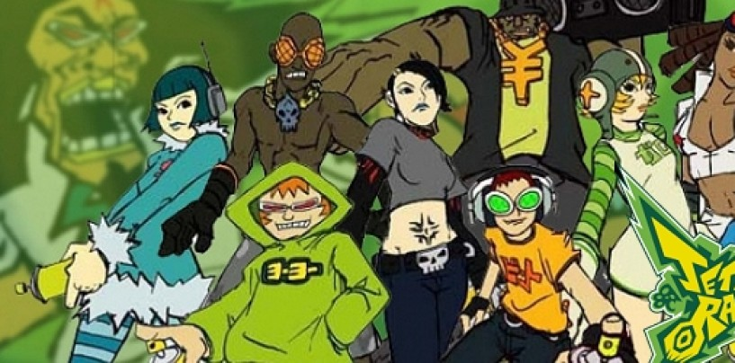 Jet Set Radio HD to feature a reduced soundtrack