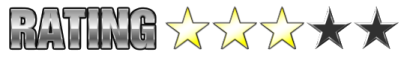 3 Stars out of 5
