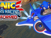 First video shows the latest unlockable of Sonic & All-Stars Racing Transformed