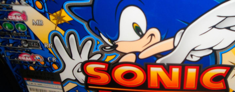 On Ebay, a Sonic Slot Machine