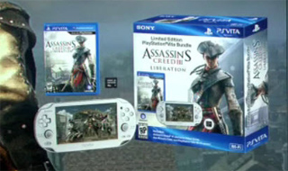 Assassin's Creed III Liberation Crystal White Vita Bundle