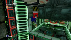 Sonic in Crazy Gadget