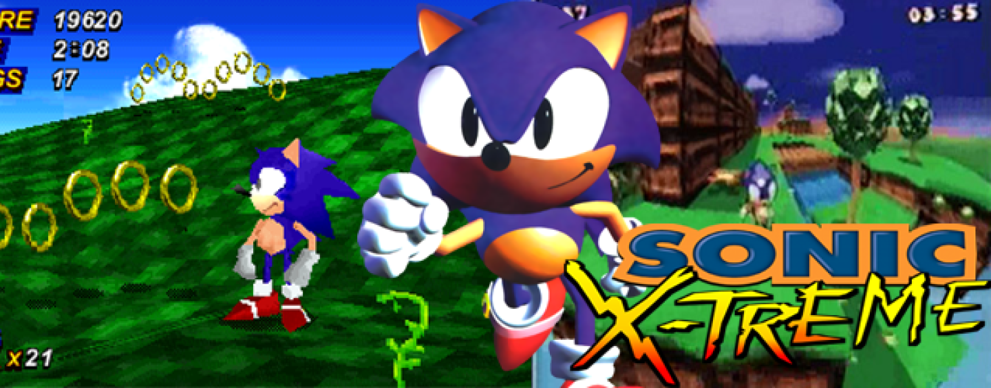 Sonic X-Treme E3 1996 promo video surfaces