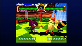 Sonic the Fighters: Espio vs. Bark