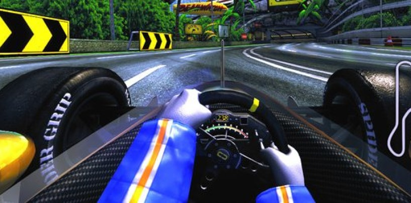 90s Arcade Racer shows off its environments