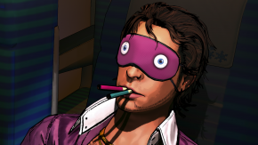 Yep, this is a SWERY65 game.