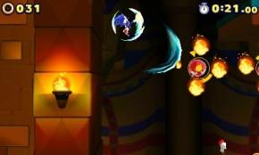Sonic's kick attack