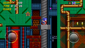 Sonic 2 looks fantastic, and the frame rate never stumbles.