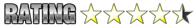 4 1/2 Stars Out of 5