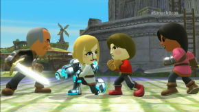 Miis will feature heavily in the new Super Smash Bros.