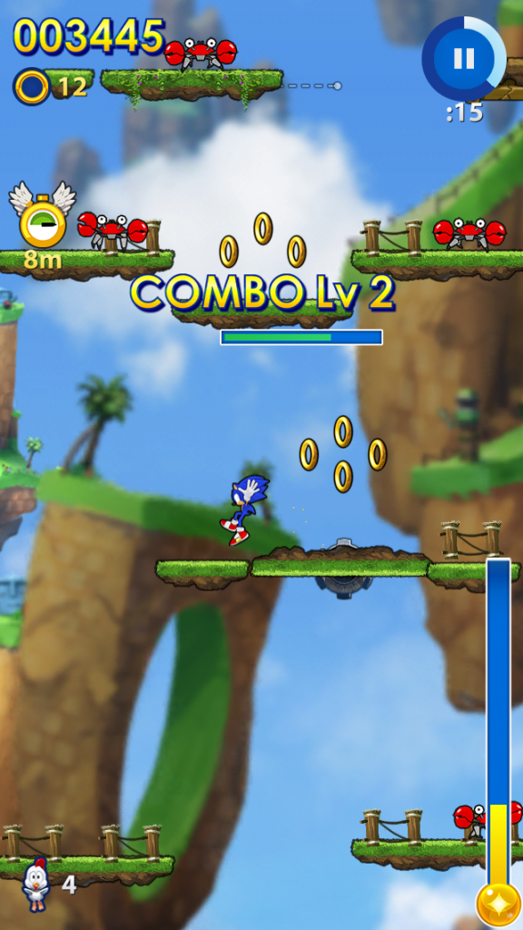 Sonic Jump Fever looks and feels a lot like its predecessor.
