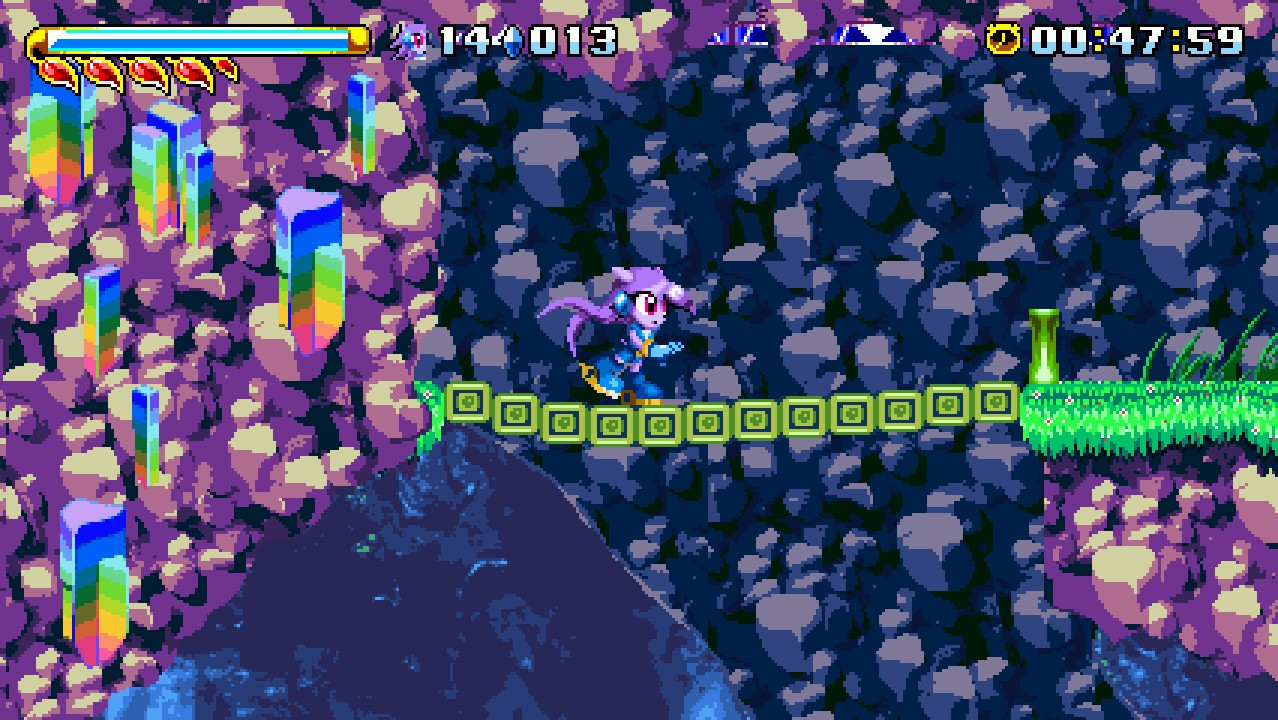 Lilac in a later level