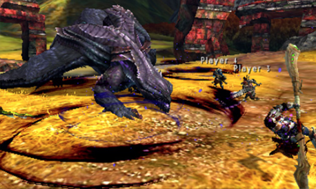 Monster fights are intense, depending on both strategy and good utilization of terrain.
