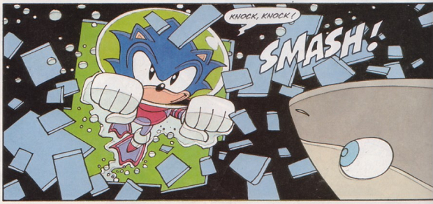 Sonic the Comic Vertical Slice 4