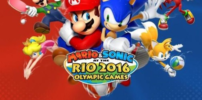 New Mario & Sonic at the Rio 2016 Olympic Games 3DS trailer relased